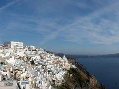 ギリシャ観光2019 アテネ近郊とエーゲ海クルーズ その9 サントリーニ島観光と帰国