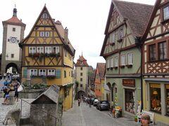 ミュンヘンを拠点に南ドイツ(少しオーストリア)を巡る旅【4】ハールブルク→ローテンブルク