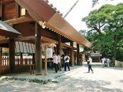 熱田神宮にお参りしてきた。