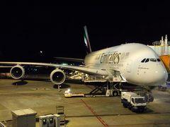 二人のバースディ旅行ヽ(^o^)丿♪  in ドバイ その1 ドッキドキ(◎_◎;)?!のA380エミレーツビジネスクラスに乗ってドバイへ