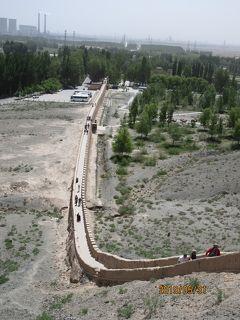 甘粛省・河西回廊シルクロードの旅(その4)~嘉峪関・懸壁長城・天下第一墩