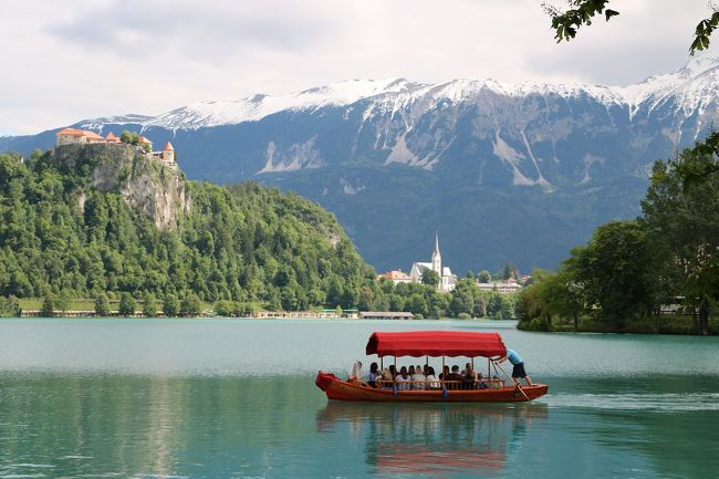 陽光きらめくスロベニア・クロアチアの旅、その1(出国~ブレッド湖観光)