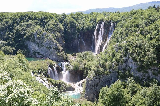陽光きらめくスロベニア・クロアチアの旅、その7(プリトヴィッツェ下湖観光)