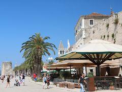 陽光きらめくスロベニア・クロアチアの旅、その10(トロギール観光)
