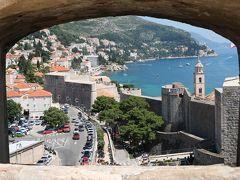 陽光きらめくスロベニア・クロアチアの旅、その14(ドゥブロヴニク城壁めぐり)