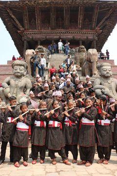 心に染み入る美しい国 23年ぶりのネパール旅(3)4月14日ネパールの元旦は、バクタプルが1年で一番華やぐ日です(^^♪
