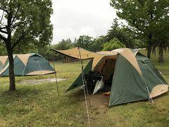 鈴鹿サーキットで初めてのキャンプ