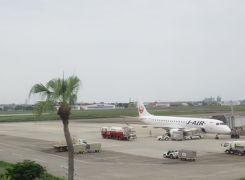 光あふる南九州(1)JALで南国・宮崎ブーゲンビリア空港へ