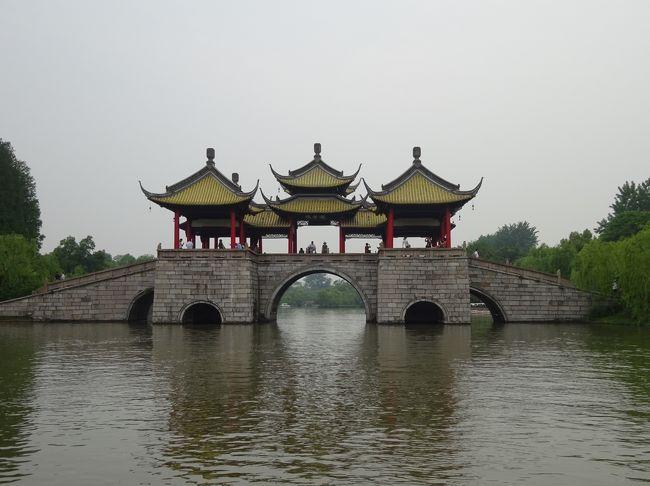 鑑真は、揚州の大明寺で修行をしていた。そして、そこから、京杭大運河を一部利用して、日本へと向かった。その鑑真出発の行程をなぞってみた。