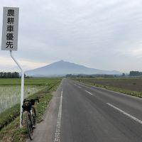 自転車で五能線沿線巡り(五所川原、鯵ヶ沢、深浦町)