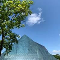 【北海道】モエレ沼公園のガラスのピラミッドとミシュラン掲載のフレンチを楽しむ!