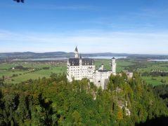 ドイツのお城 ノイシュバンシュタイン城 絶景ハイキング