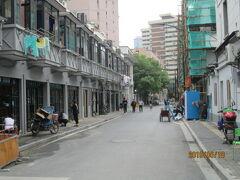 上海の江陰路・街並み改良