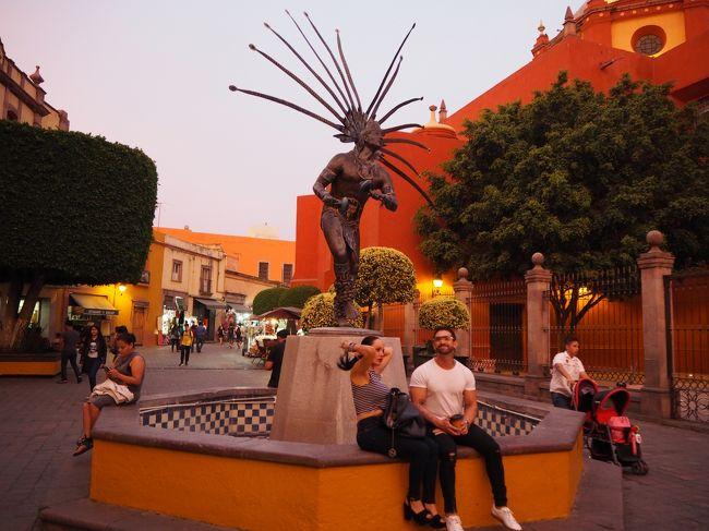 ケレタロはメキシコ第3の都市ですが、16世紀に建てられた水道橋やコロニアルな街並みの歴史地区が残り、街歩きの観光が楽しめます。