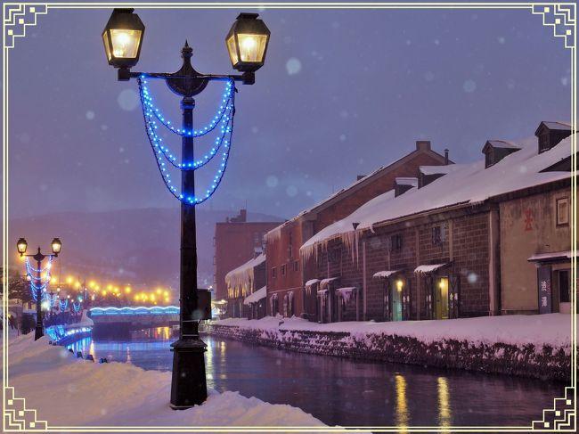 雪の小樽運河を見た~い!① ☆小樽ゆき物語☆