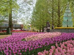 シニア&子連れ オランダ・ベルギー 個人旅行 4日目 キューケンホフ公園