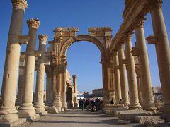 シリア・ヨルダン10日間の旅(2) パルミラ遺跡