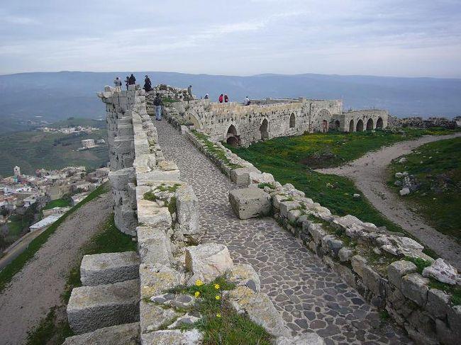 「インディージョーンズ &#12316;最後の聖戦&#12316;」で有名になったぺトラ遺跡を巡るシリア・ヨルダン10日間の団体ツアーに参加しました。ぺトラ以外にも、パルミラ、ボスラ、ジェラシュなど、見ごたえのある遺跡をたくさん観光するツアーです。また、ヨルダンでは死海の浮遊体験も付いています。<br /><br />詳しい内容は、こちらをご覧下さい。<br /> ⇒http://000worldtour.web.fc2.com/028_jordan_01.html