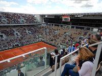 ローランギャロスでテニスのフレンチオープンを観戦!