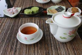 桜咲く日本と台湾・韓国を巡る早春のクルーズ旅行記 【9】絶景茶屋でお茶をいただく
