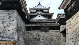 2018年四国・九州遠征2日目(2018/6/3) 宇和島・松山現存天守巡りの旅