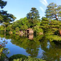 初めての金沢一人旅 (2日目)兼六園早朝開園、白山比め神社、にし茶屋街など