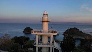 和歌山,雑賀崎の灯台、日の出,灯台巡り,2019年4月