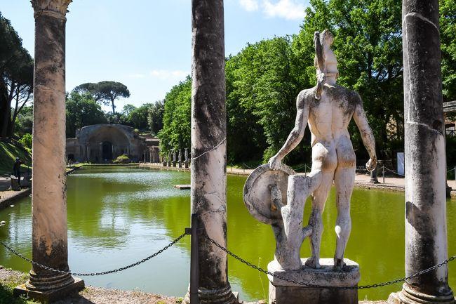 ローマ再訪~古代ローマ遺跡三昧の旅 【2】ハドリアヌスの別荘~静かにひっそり過ごす別荘だと思ったら・・・ (2018/4/30)
