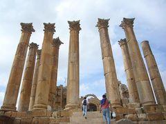 シリア・ヨルダン10日間の旅(5) ジェラシュ遺跡