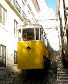 2019.2ポルトガル一人旅19‐ケーブルカーBica線,リベイラ広場で遅い昼食,コルメシオ広場,ケーブルカーLavra線など