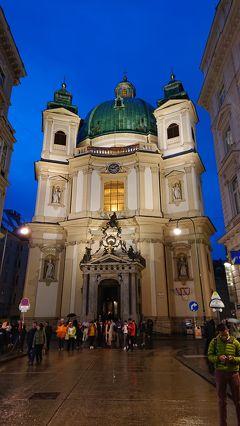 2日目 ウィーン観光(ホーツブルグ宮殿など)