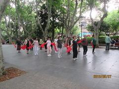 上海の准海中路・襄陽公園・市民の憩いの場