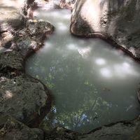 霧島温泉最古の岩風呂
