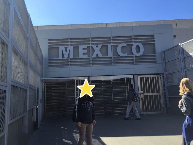 今日は<br />アメリカからメキシコ国境越えを決行します!<br /><br />これまで陸路で国境越えはしたことがなくて初めて!メキシコも初めて!!<br /><br />新しいことするのが大好き\(^o^)/<br />ワクワクです。<br /><br /><br />移動:<br />今回もGreyhoundを使ってサンディエゴまでいきます。<br />-------------Trip to San Diego, CA-------------<br />03/09/16 05:30AM GREYHOUND LINES, INC.-GLI9455 * Depart Los Angeles, CA <br />03/09/16 08:20AM GREYHOUND LINES, INC.-GLI9455 * Arrive San Diego, CA <br />-------------Trip to Los Angeles, CA-------------<br />03/09/16 07:15PM GREYHOUND LINES, INC.-GLI9484 * Depart San Diego, CA <br />03/09/16 10:10PM GREYHOUND LINES, INC.-GLI9484 * Arrive Los Angeles, CA <br /><br />往復、2人で55ドル!<br />アメリカに来たら時間がある方は長距離バスも楽しいです(^^)