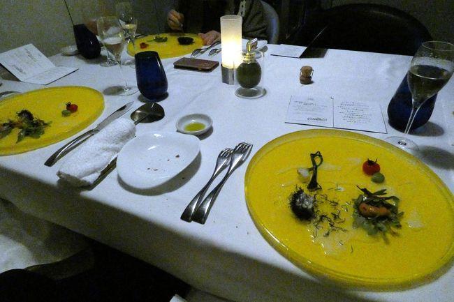 エクシブ湯河原離宮ではかなり豪華なバイキングをはじめ、和食、中華と一通りのレストランが揃っていて、一通り利用してみました。<br /><br />それらの選択肢が多いレストラン群の中で、イタリア料理 マレッタの中田勉(なかだ つとむ)料理長のお料理は、頭一つどころか二つも三つも抜きんでている感じで、このところ毎回楽しみにしています。<br />
