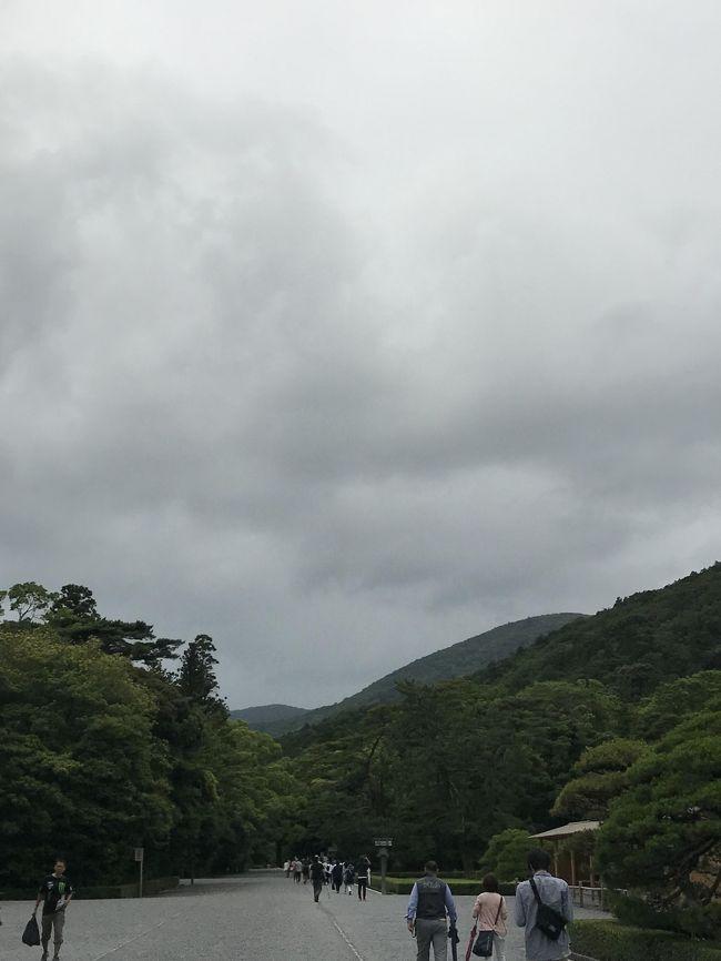 近鉄電車に乗って歩いて伊勢神宮内宮へ、平日の日帰り参拝は歩きやすーい!<br />メインはおかげ横丁で飲んで食べて歩く!
