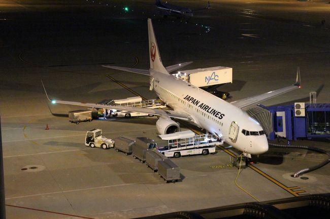 中部国際空港から羽田へ、20:40発JL208便はよく利用する便。2017年12月のフライトの様子はすでに旅行記に作成済なので、重複は避けたいので簡略化して・・・最近の様子として・・・<br />名鉄特急、セントレアでの食事とともに・・・<br />なお、飛行機撮影時には三脚、ストロボなどは使用していません。すべて手持ちで撮影(今のカメラの性能は素晴らしい)<br />夜の飛行機、セントレアの一端を紹介します。<br />