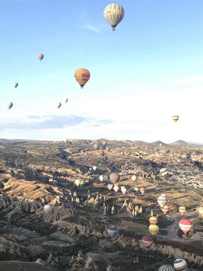 転職前の有休消化を使って、前から行きたかったトルコに行ってきました。<br />バケーションシーズンの少し前だったこともあり、そこそこの観光客でゆったり魅惑のトルコを満喫できました。<br />ひとり旅だったこともあるせいか、トルコの人の優しさをいたるところで感じる旅となりました。