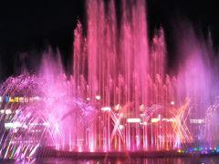 188回目訪韓(2019/7/11木~14日)②/⑫多大浦の噴水ショー鑑賞