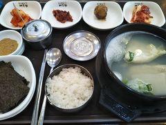 188回目訪韓(2019/7/11木~14日)⑧/⑫ソルロンタンの夕食~BIFF広場でホットク~テグタンの朝食