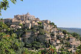 南仏の美しい村とラヴェンダー畑を巡る旅(12)『フランスの最も美しい村』ゴルド & セナンク修道院☆Gordes