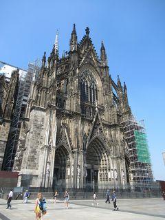 ドイツ周遊の旅⑯ 533段の階段でケルン大聖堂の展望台へ