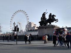1月のイングランド1人旅 ロンドン テムズ川周辺街歩き
