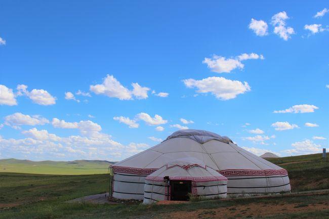 モンゴルの草原のゲルで癒されよう~よ旅 1 ゲルまでの道