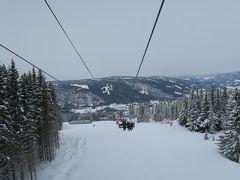 海外スキー ノルウェー リレハンメルのハーフィエルでぼっちスキー!