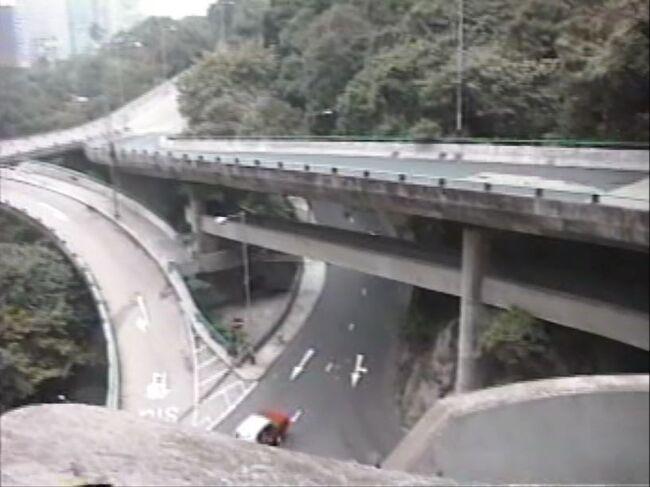1997年 香港 3/5 :返還前 最後の春節 (ミッドレベルと花火)
