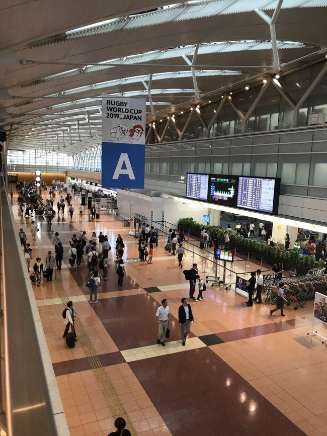ANAの6000マイルで名古屋から羽田が取れたので行って来ました<br /><br />2年ほど前JALの特典航空券で行った際は3時間遅れで、その対応の悪さに呆れるばかり
