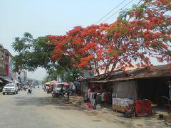 ラオス北部の田舎町ルアンナムターで南国リゾート?に宿泊