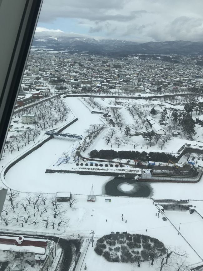 真冬の函館グルメ旅2日目