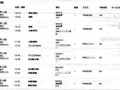 特典航空券の旅1 福岡